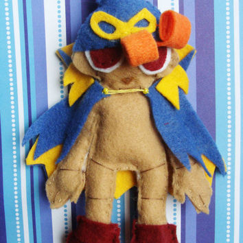 Geno - Super Mario RPG - Felt Plush Doll