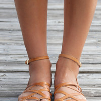 Chinese Laundry Gia Tan Leather Sandals