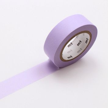 mt Washi Tape Single Pastel Purple