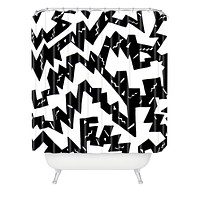 Kris Tate BWB Shower Curtain