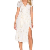 NOVELLA ROYALE Holley Dress in Gold Lilly