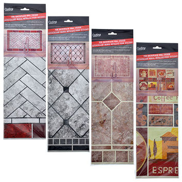 Bulk Foil Backsplash Wall Stickers at DollarTree.com
