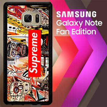 Supreme To Release Collection Featuring Basquiats V1635 Samsung Galaxy Note FE Fan Edition Case