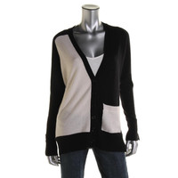 Society by Top Secret Society Womens Wool/Cashmere Blend Cardigan Sweater