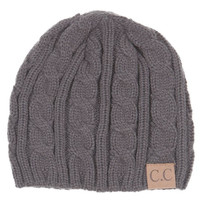 CC Beanie Knit Weaved