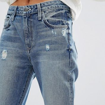 Lovers + Friends High Rise Slim Mom Jeans at asos.com