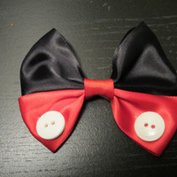 Mickey Mouse hair bow Disney Inspired