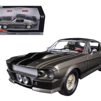 """1967 Ford Mustang Custom """"Eleanor"""" Gone in 60 Seconds Movie (2000) 1-24 Diecast Model Car by Greenlight"""