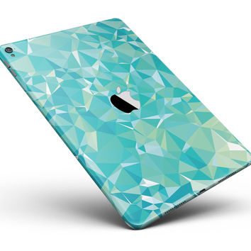 "Teal Geometric V13 Full Body Skin for the iPad Pro (12.9"" or 9.7"" available)"