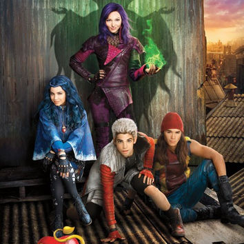 Descendants - Ket Art Wall Poster 22x34 RP14434 UPC882663044344 Disney