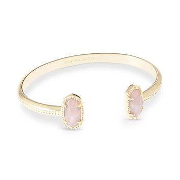 Elton Bracelet In Rose Quartz