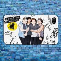 Five SOS iPhone Case Cool White Album Phone Cover 5 SOS iPhone Case Five Seconds of Summer iPhone 4 iPhone 5 iPhone 4s iPhone 5s iPhone 5c