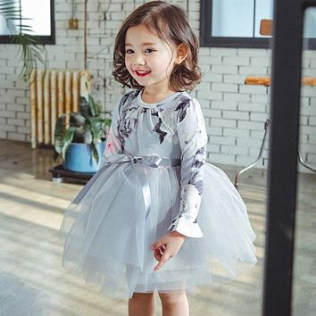 Winter Baby Girl Party Dresses For Girls Frock Infant Tulle Costume For Kids Clothes Children Clothing Bebes Toddler Girl Wear