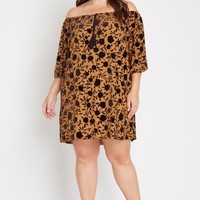 Winslow Off the Shoulder Shift Dress Plus Size