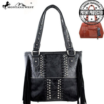 Montana West MW178G-8014 Concealed Carry Handbag