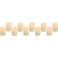 Walmart: Flameless LED Votive Candles, 10-Pack