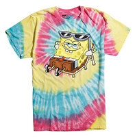 SpongeBob SquarePants Chillin' Tie Dye T-Shirt