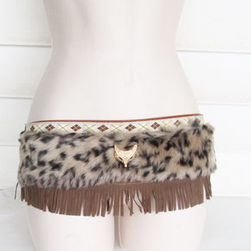 Bohemian Belt- Native American Belt- Gypsy Hip Belt-Tribal Belt- Hip Belt - Womens Belt.
