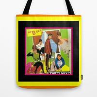 The B-52's PARTY MIX Tote Bag by Kathead Tarot