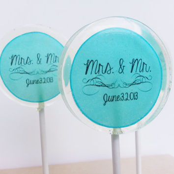 Wedding Favors, Personalized, Candy Lollipop, Custom, Edible Images, Lollipops, Create your own lollipop, Party Favors, SIX LARGE LOLLIPOPS