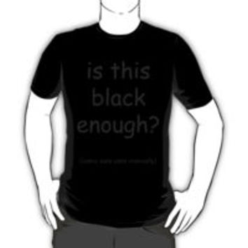 Is this black enough? Comic Sans used ironically by klairehumanoid