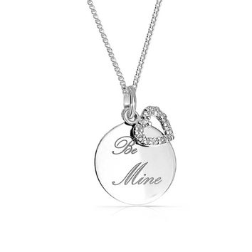 Bling Jewelry Now Be Mine Necklace