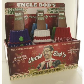 Uncle Bob'S Ugly Beer Sweater - 48 Units