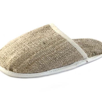 Mato Natural Hemp House shoe slip on slippers