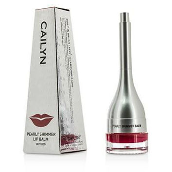 Pearly Shimmer Lip Balm - #05 Sexy Red - 4g-0.14oz