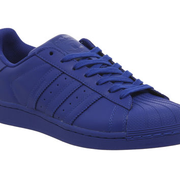 Adidas Superstar 1 Pharrell Supercolour Bold Blue - His trainers