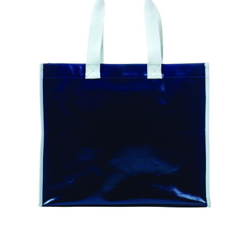 Toss Classic Canvas Cape Tote - Navy w/ white trim