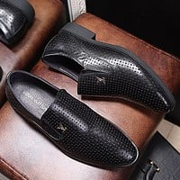 LV Louis Vuitton Man or Woman Fashion Casual Shoes Leather Shoes