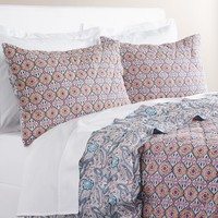 Alma Ogee Purple and Blue Bedding Collection
