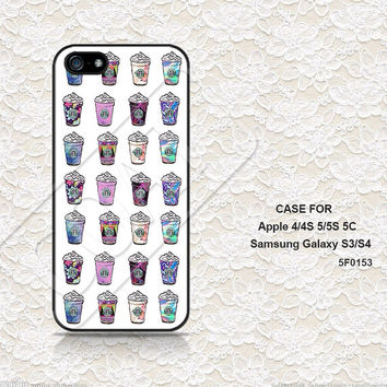 iPhone 5 Case, iPhone 4 Case, iPhone 5C Case, iPhone 5S Case, iPhone 4S case, Starbucks Galaxy Samsung Galaxy S3 S4 Case iPhone Case- 5F0153