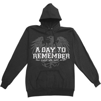 A Day To Remember Men's  Friends Hooded Sweatshirt Black