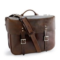 Wallace & Barnes leather Carrier satchel - wallace and barnes - Men's bags - J.Crew