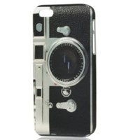 Retro Camera Style Design IMD Hard Back Cover Case for iPhone 5 5G