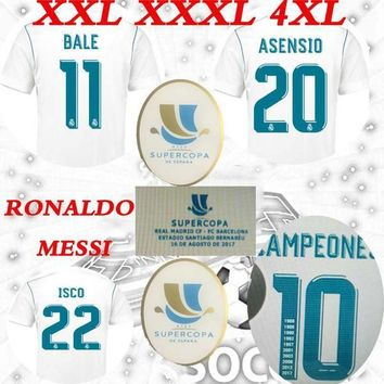 2017 spain super cup for 16 AUGUST Real Madrid home asensio ronaldo vs messi supercopa