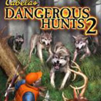 Calebas Dangerous Hunts for the Gamecube (Disc Only!)