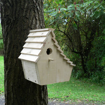 Wooden Birdhouse - The Salt Shaker