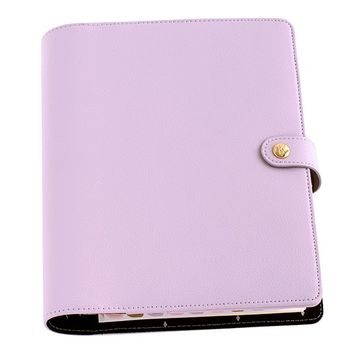 LEATHER PERSONAL PLANNER: LILAC - Diaries & Calendars