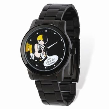 Mickey Mouse Black Watch