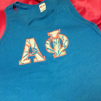 Alpha Phi Lilly Tank Top in Size Extra Small