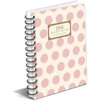 Classic Charm Polka Dot 2016 Organizer and Planner-Great Holiday Gift Item!