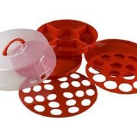 Xtraordinary Home Products Party Traveler, Red