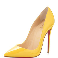Christian Louboutin So Kate Patent Red Sole Pump, Sun
