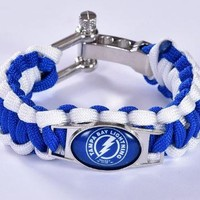 NHL - Tampa Bay Lightning Custom Paracord Bracelet