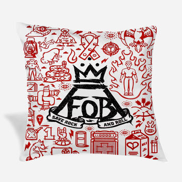 Fall Out Boy Pillow Cover