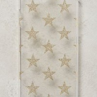 Golden Stars iPhone 6 Case by Munich-based artist and designer Monika Strigel Clear One Size Tech Essentials