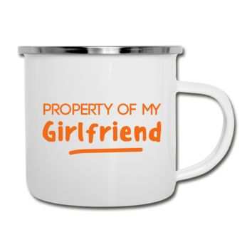 Property of Girlfriend Camper Mug